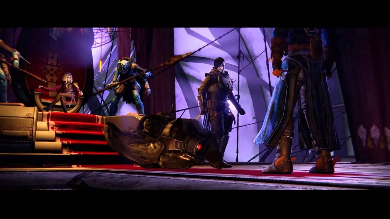 Destiny – Eye of a Gate Lord Ending Cutscene (PS4)