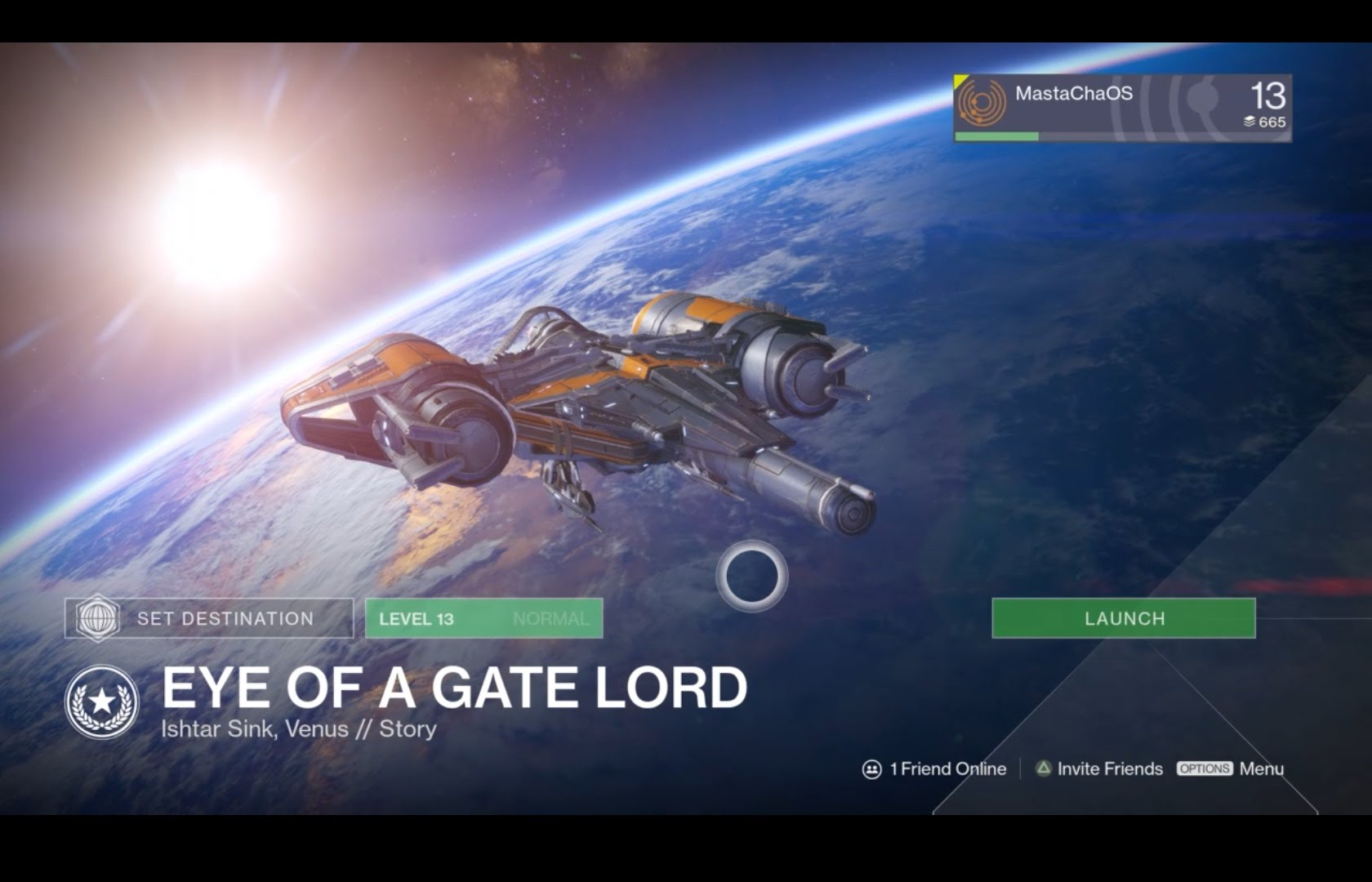 Destiny – Eye of a Gate Lord (PS4)