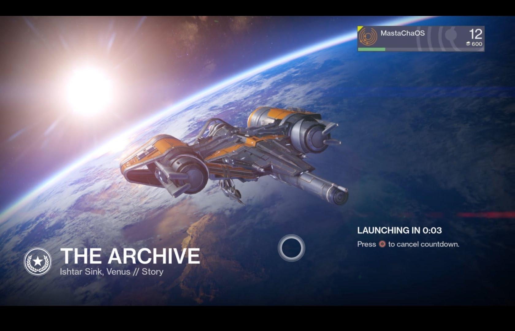 Destiny – The Archive (PS4)