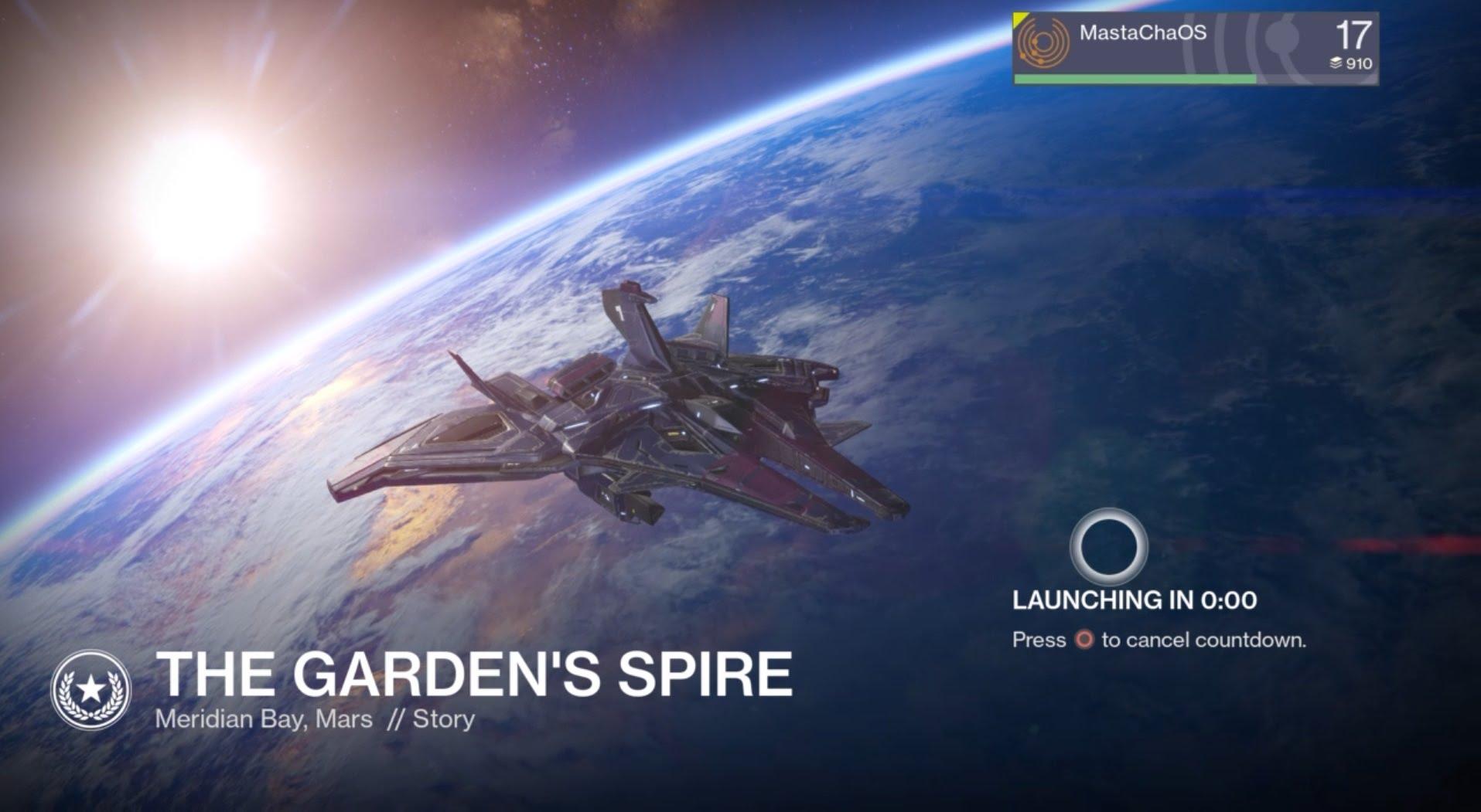 Destiny – The Garden's Spire (PS4)