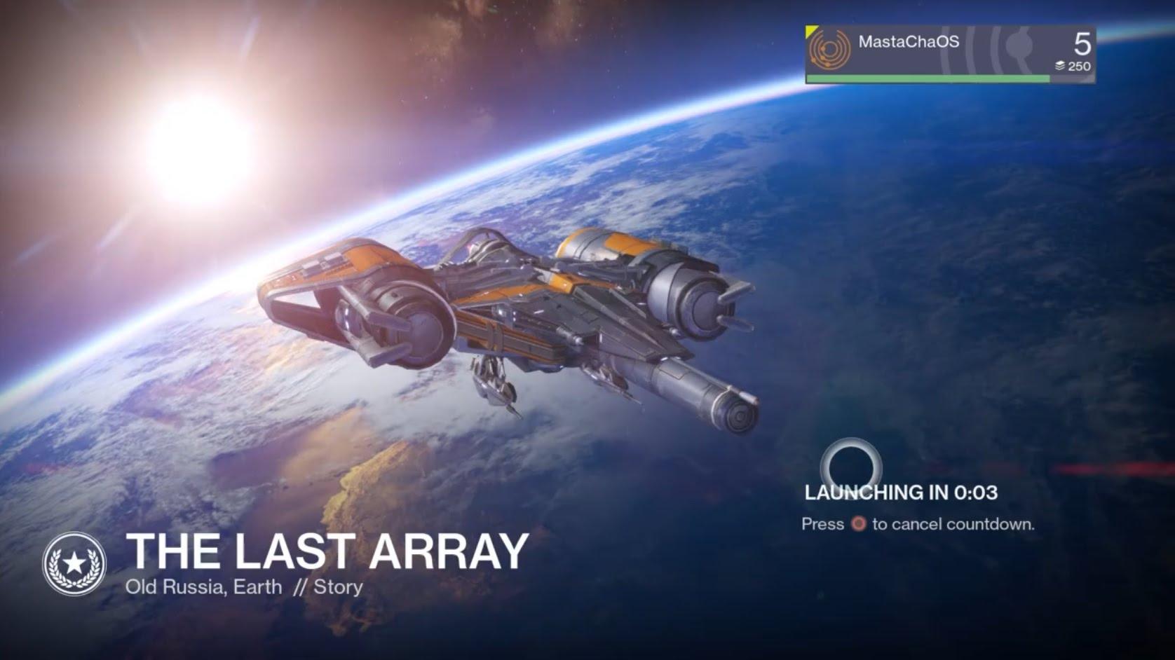 Destiny – The Last Array (PS4)