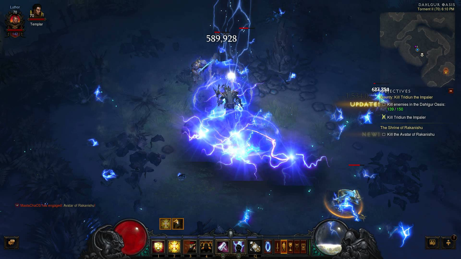 Diablo III – Avatar of Rakanishu