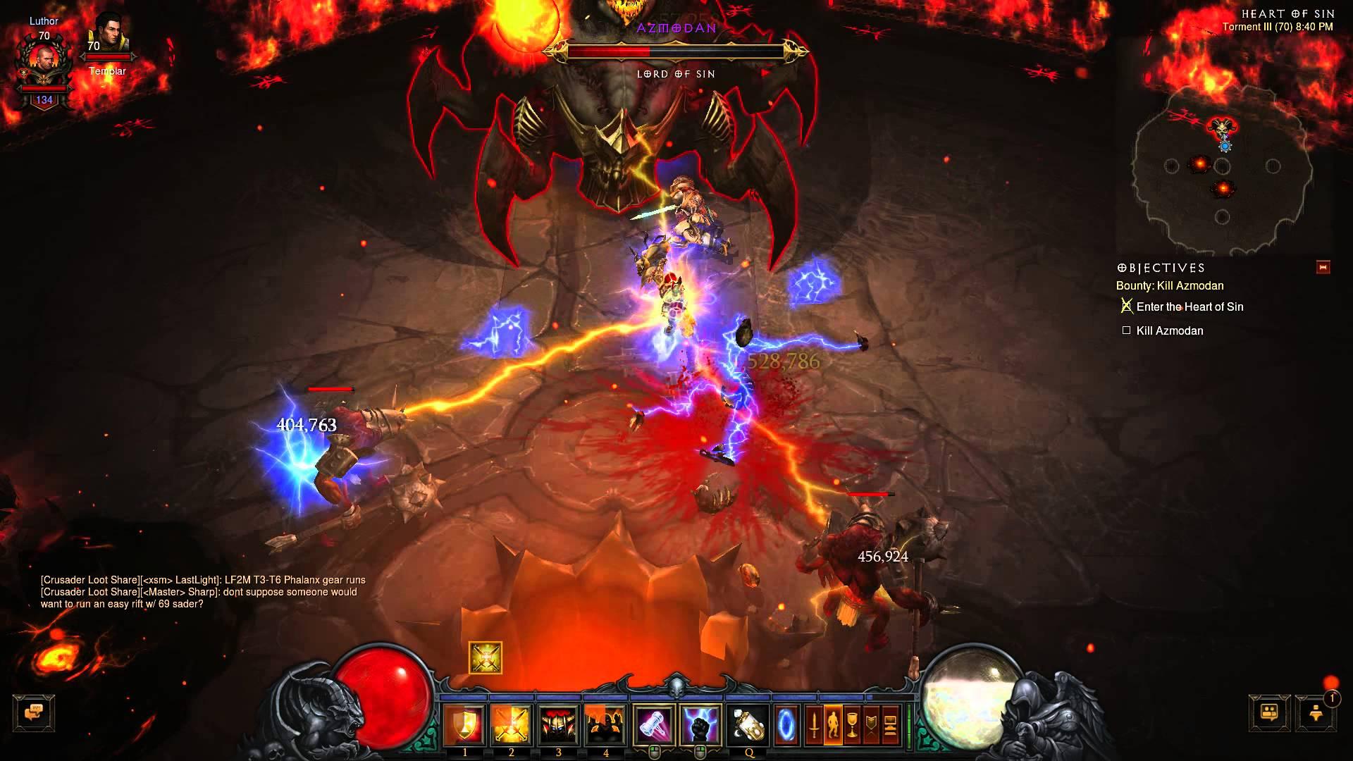 Diablo III – Azmodan smackdown