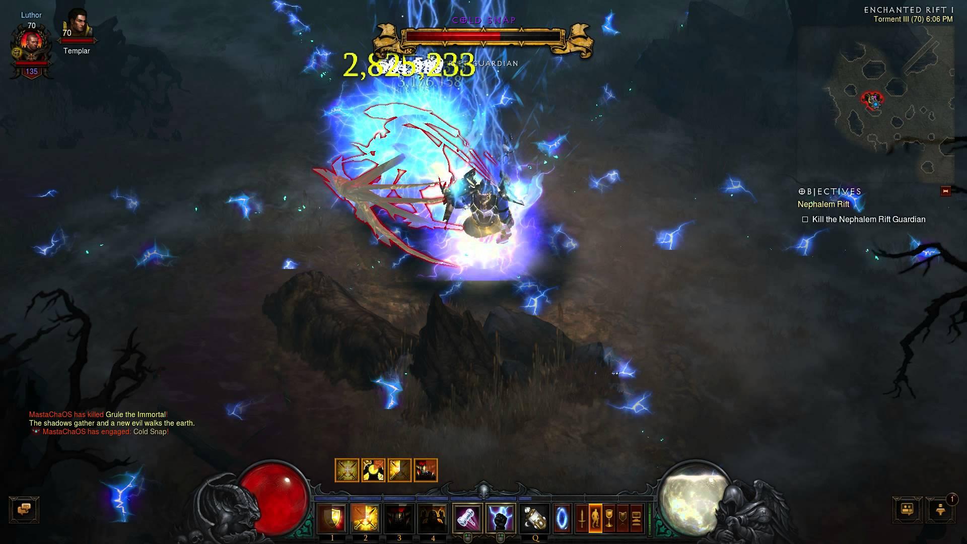 Diablo III – Coldsnap Smackdown