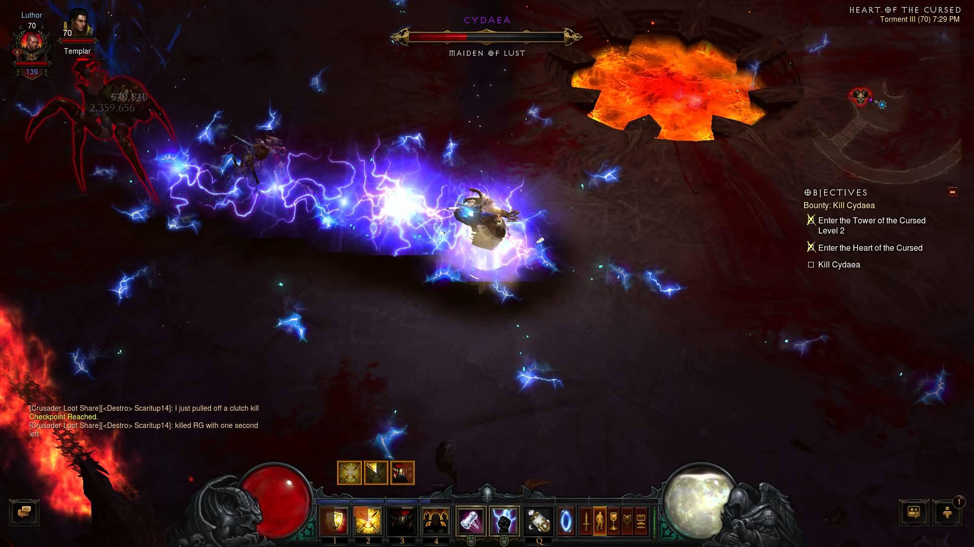 Diablo III – Cydaea Smackdown