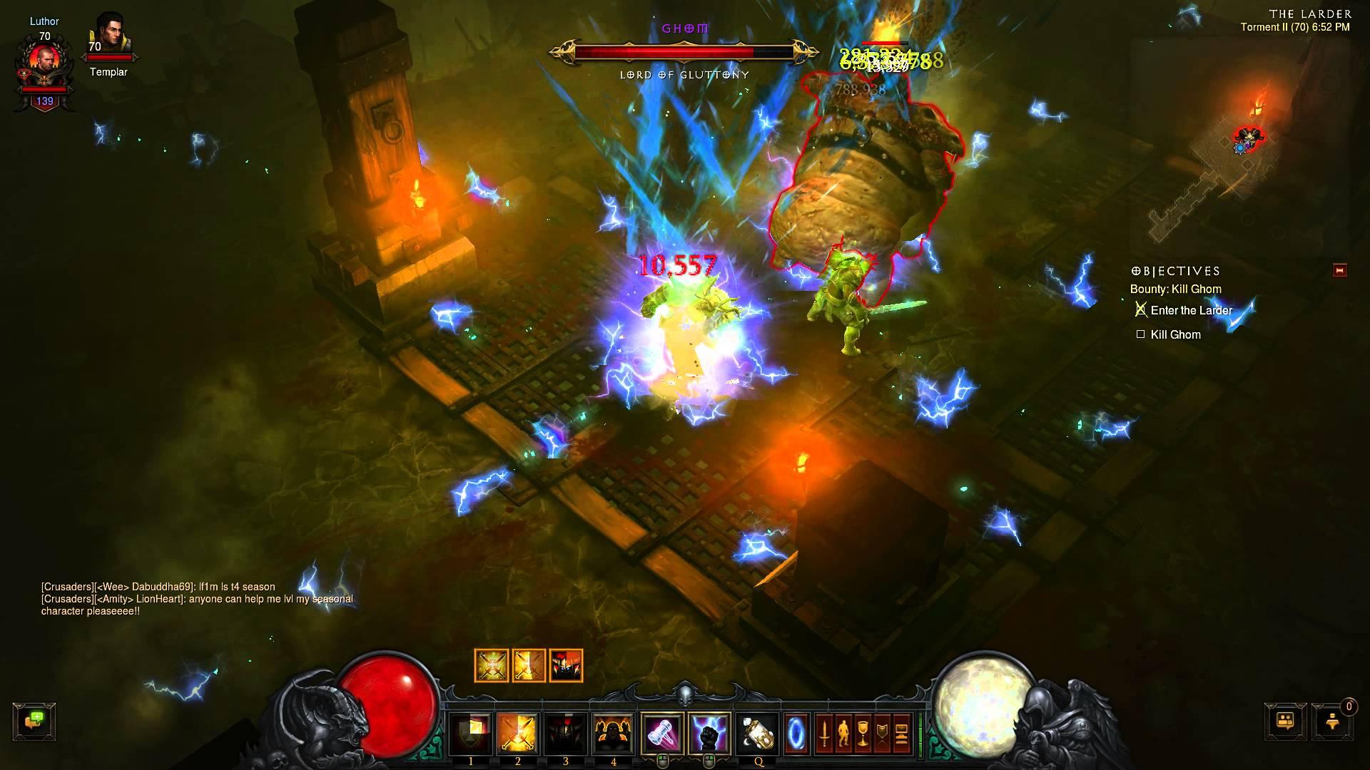 Diablo III – Ghom Smackdown – Ghom appetit