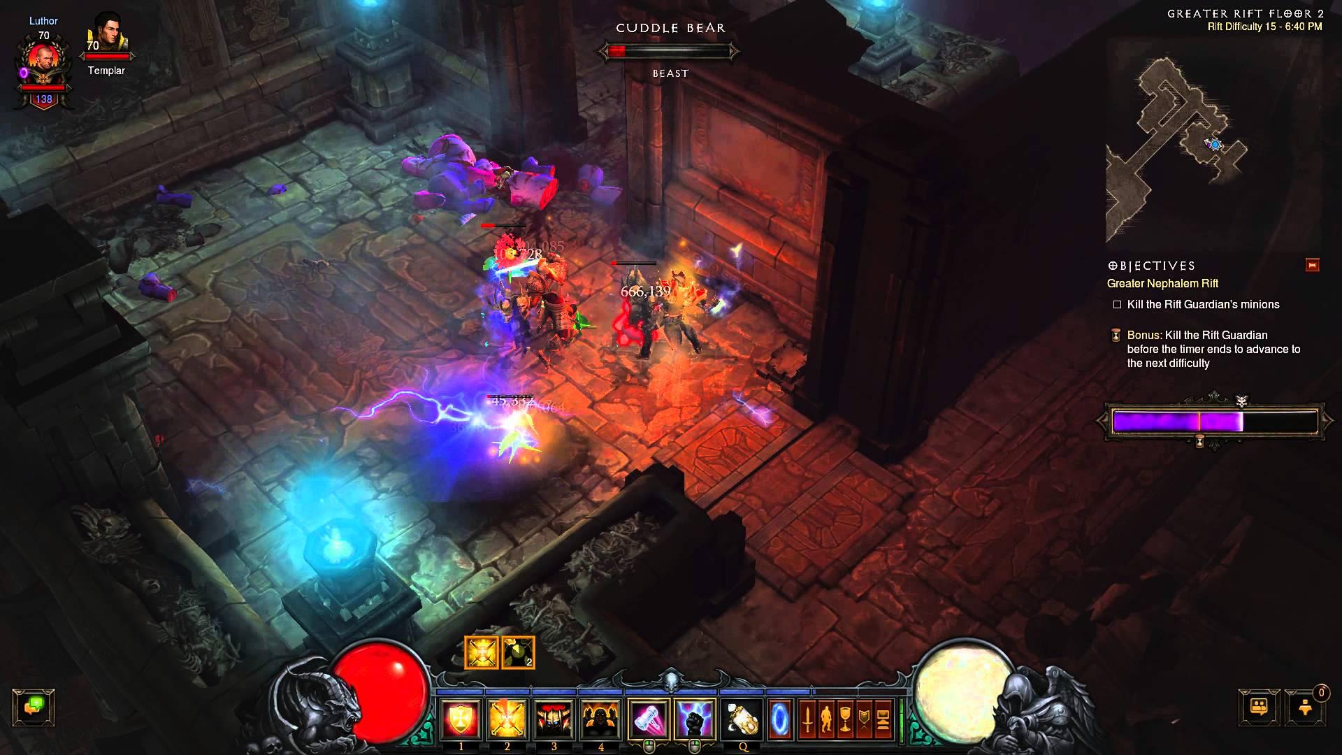 Diablo III – Greater Rift – Whimsyshire Enemies