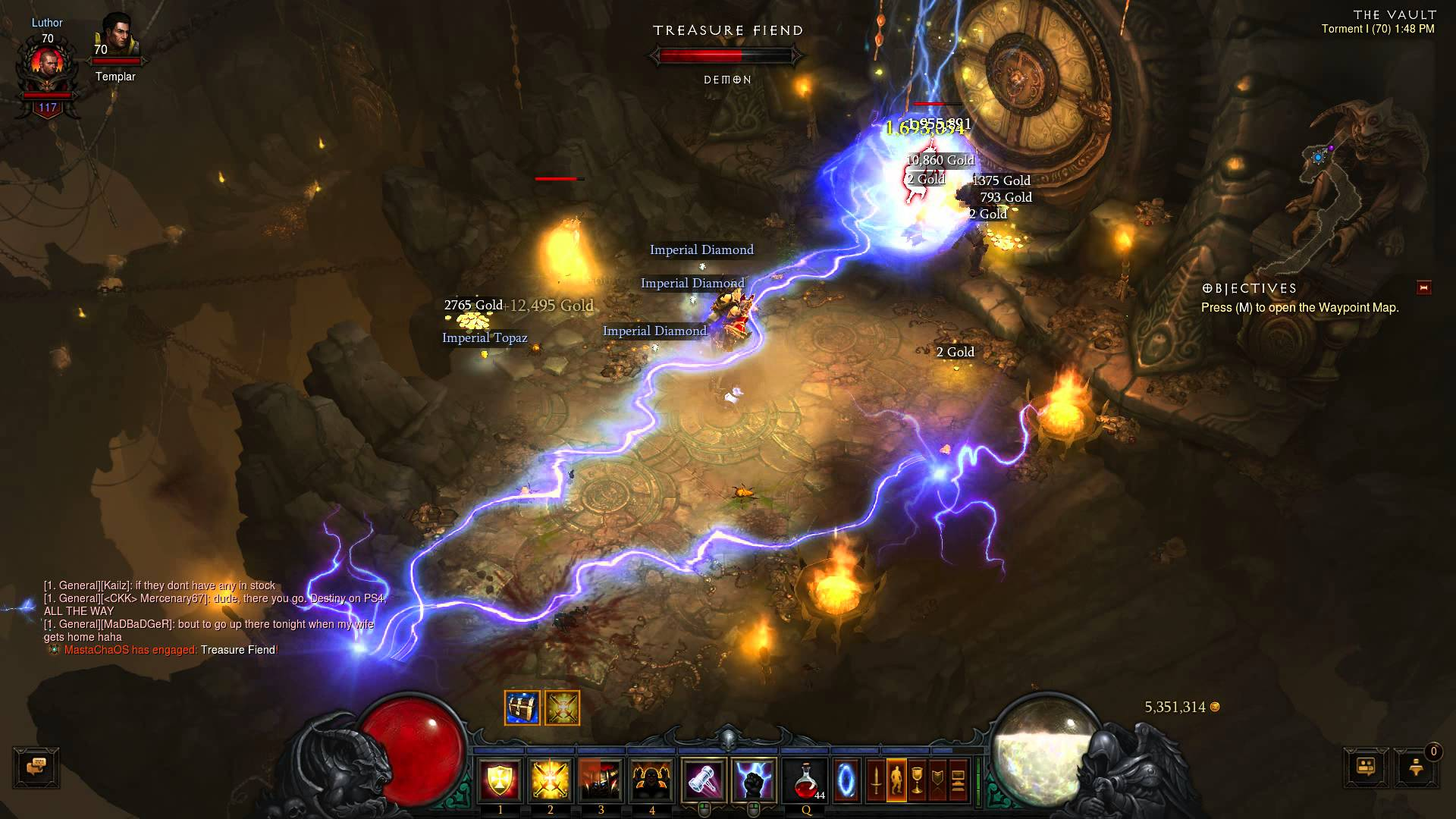 Diablo III – Greed's Treasure Realm