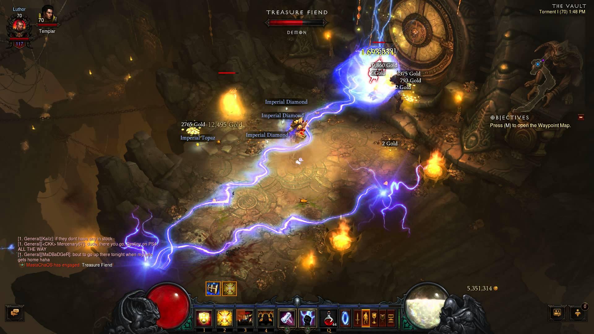 Diablo III – Greed's Treasure Realm