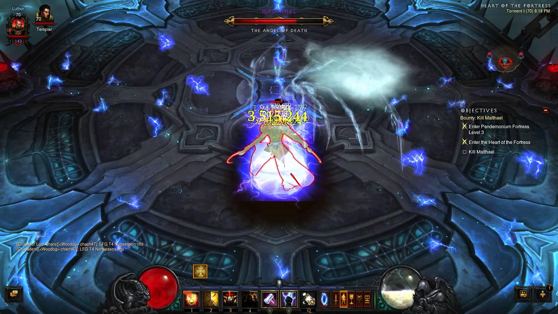 Diablo III – Malthael Smackdown – Sudden Death