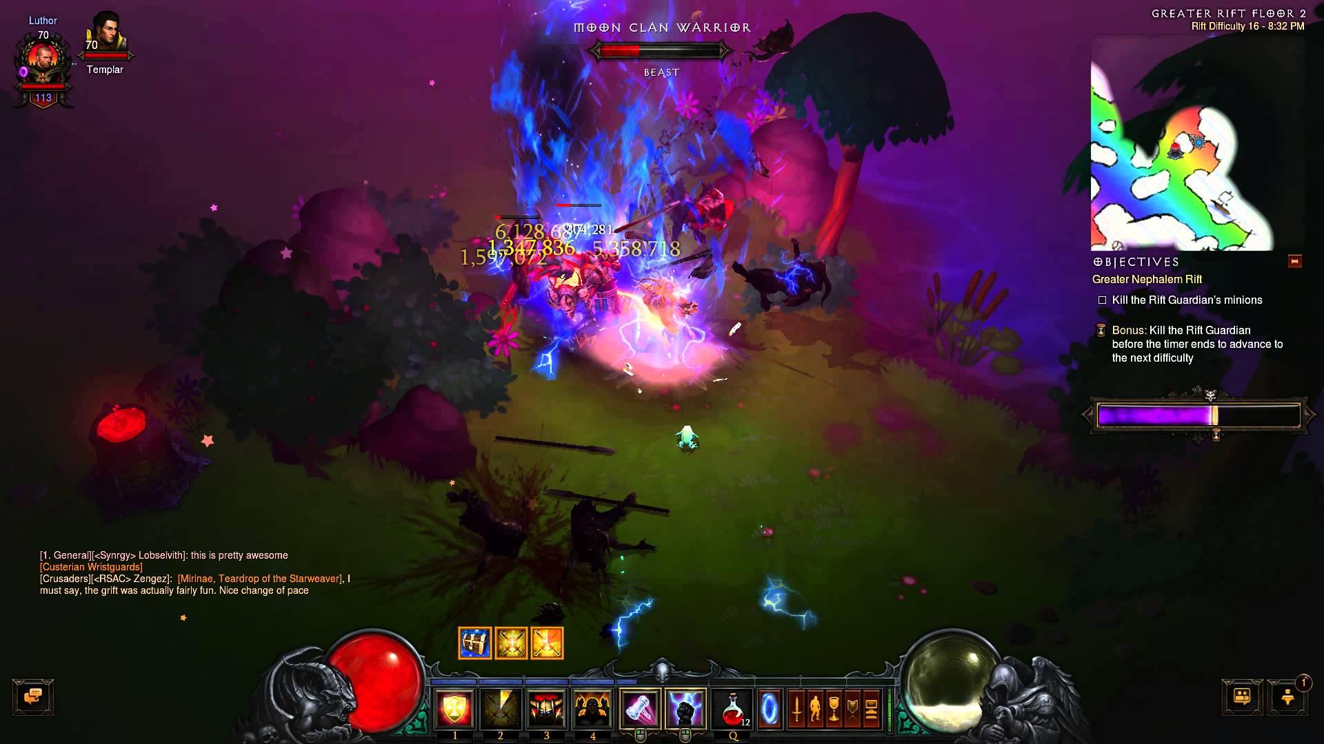 Diablo III RoS Greater Rift – Whimsyshire Tileset