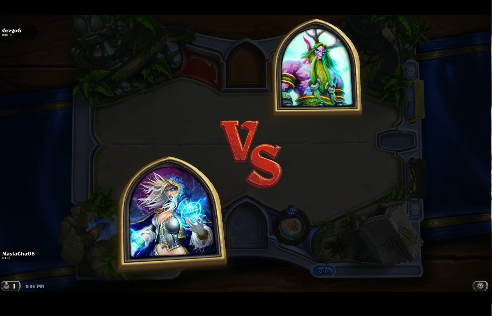 Hearthstone – Mage VS Druid