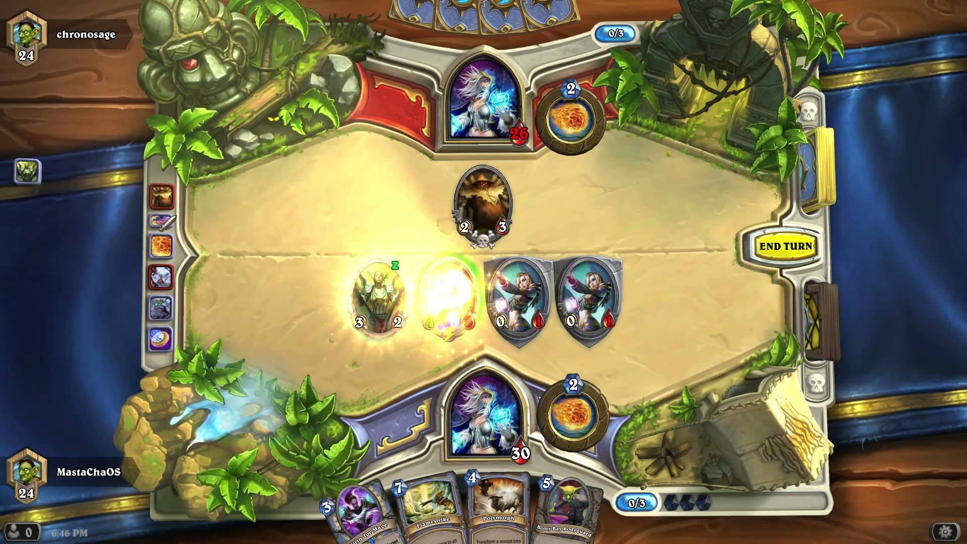 Hearthstone Ranked Play – Mage v Mage