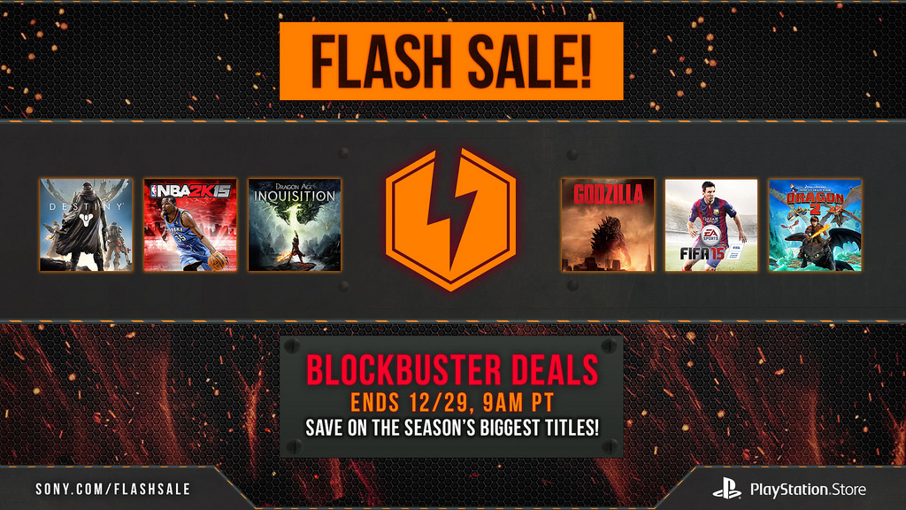 PSN Flash Sale Alert!