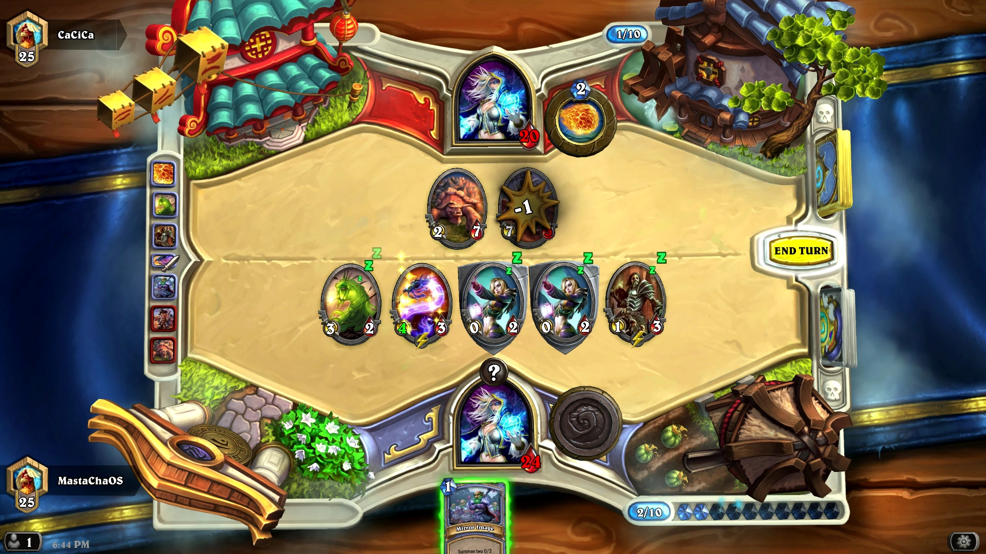 Hearthstone Ranked Match: Mage vs Mage