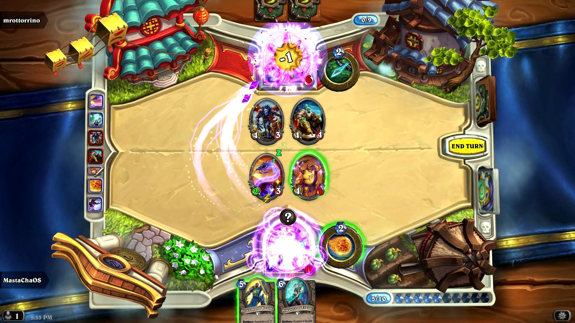 Hearthstone: Mage VS Hunter