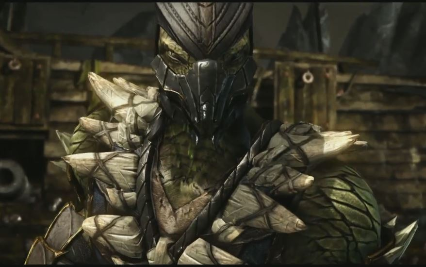 Reptile Revealed for MK:X
