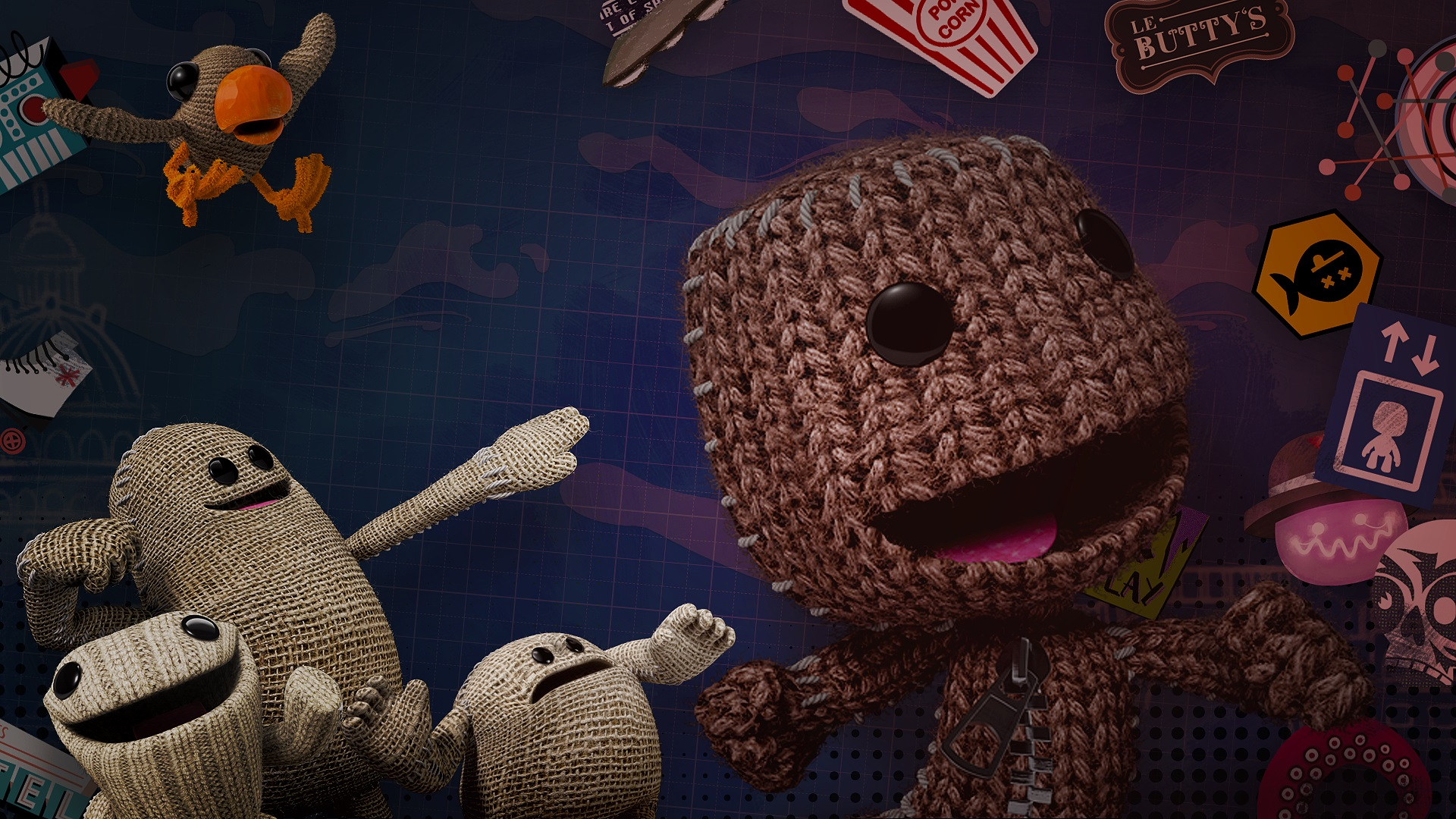 Playthrough: Little Big Planet 3 (PS4)