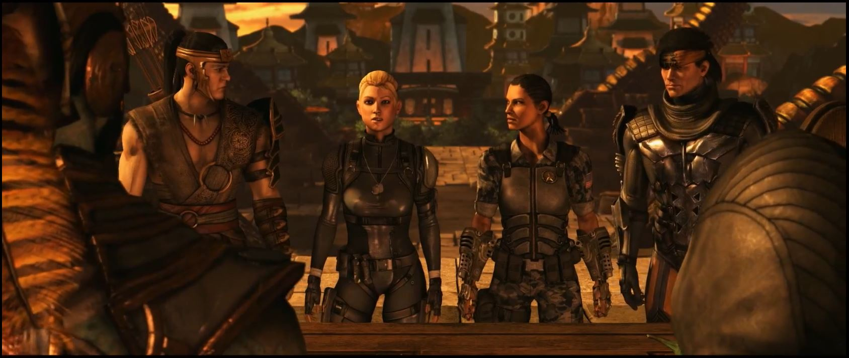 Mortal Kombat X Story Mode Trailer