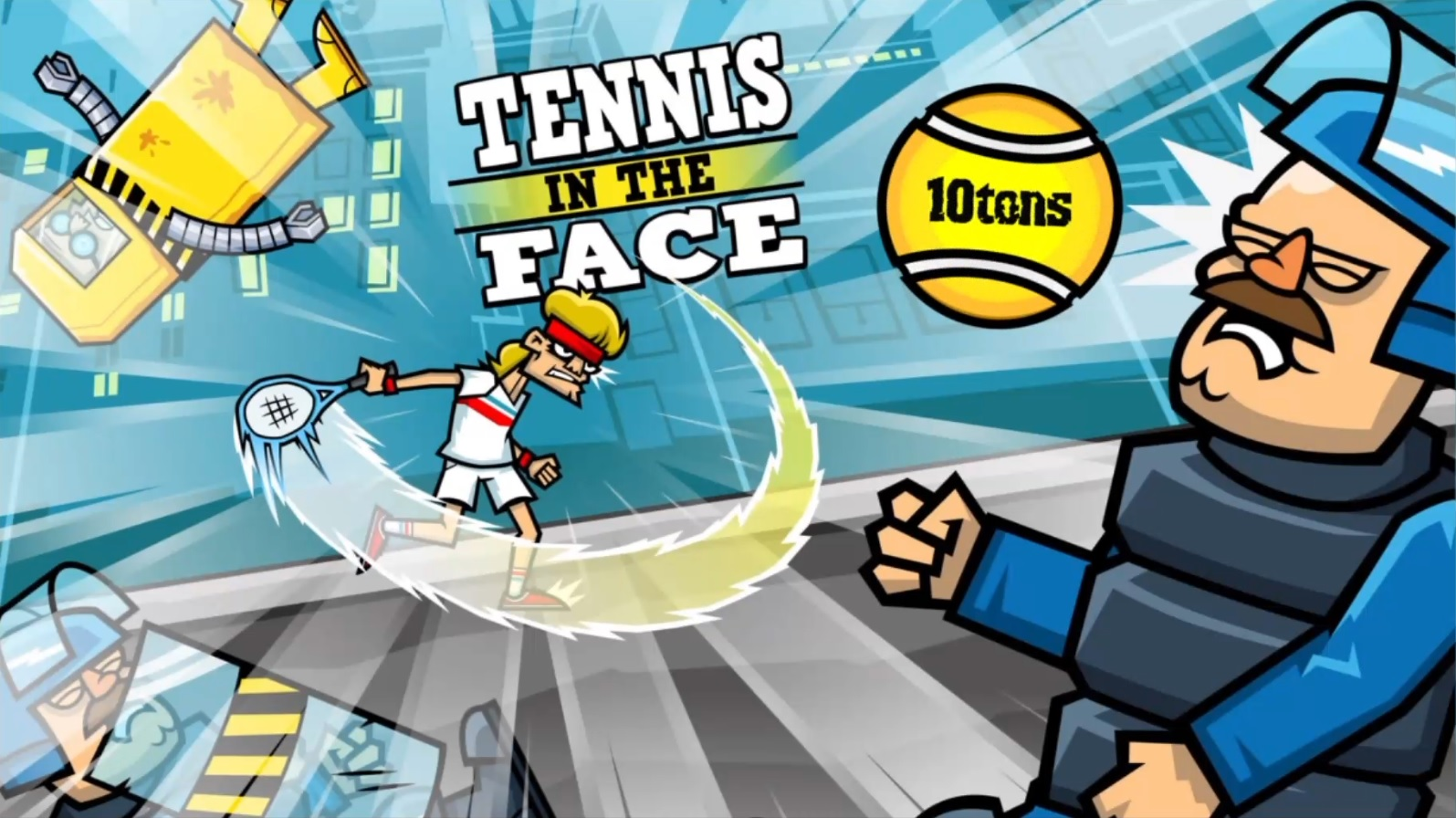 Tennis in the Face (PS4)
