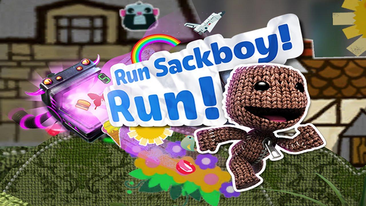 Run Sackboy! Run! Now Available on PS Vita