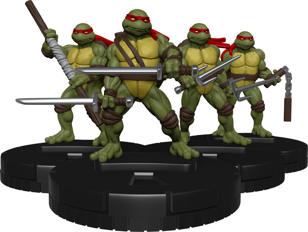 TMNT is coming to Dice Masters and HeroClix