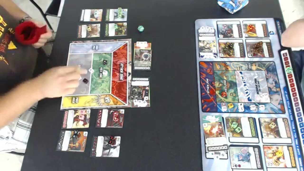 Dice Masters Constructed – Jamez vs Marie