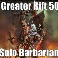 Diablo III – Season 6 – GR50 Solo Barbarian