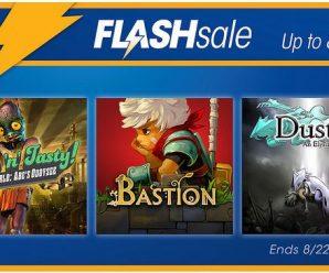 PSN Flash Sale Happening Now!