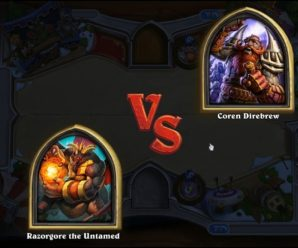 HEARTHSTONE TAVERN BRAWL – BOSS BATTLE ROYALE – RAZORGORE VS COREN