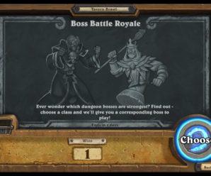Hearthstone Tavern Brawl – Boss Battle Royale