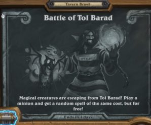 Hearthstone Tavern Brawl – Battle of Tol Barad