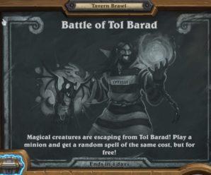 Hearthstone Tavern Brawl – Battle of Tol Barad