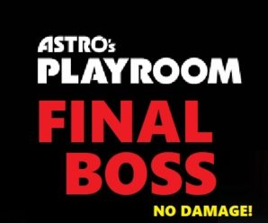 Astro's Playroom Final Boss – PS1 T-Rex Tech Demo – No Damage